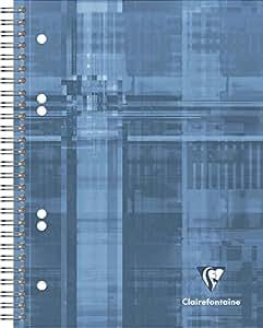 Clairefontaine 8272C Konferenzblock Couverture A5  papier carré 90 feuilles- Coloris aléatoire