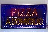 Placa Pizza a domicilio Dim. Color 60x 33cm).