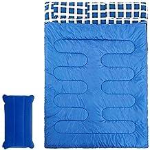 Doble Pareja Saco de Dormir Desmontable Solo Grueso Franela Saco de Dormir Camping Anti-Sucio