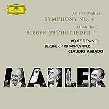 Mahler : Symphonie n° 4 en sol majeur - Berg : Sept lieder de jeunesse