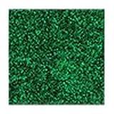 CafePress–Smaragd Glitzer (nicht echt Glitzer)–Tile Untersetzer, Drink Untersetzer, Untersetzer, Klein