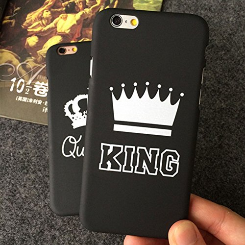 FADDARE iPhone X 8 7 6s Plus 5 King Queen Crown Protector