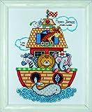 Tobin Noahs Ark Baby Sampler, Multi-Color