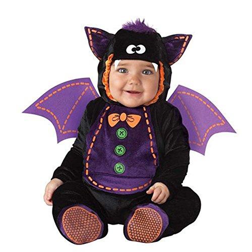 Dantiya Jungen Mädchen Kind Fledermaus Gestaltung Onesies Aufführung-Kleidung (Kostüme Für Tanzabend Jungen)