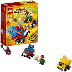LEGO Super Heroes Mighty Micros: Scarlet Spider Contro l'Uomo Sabbia, 76089