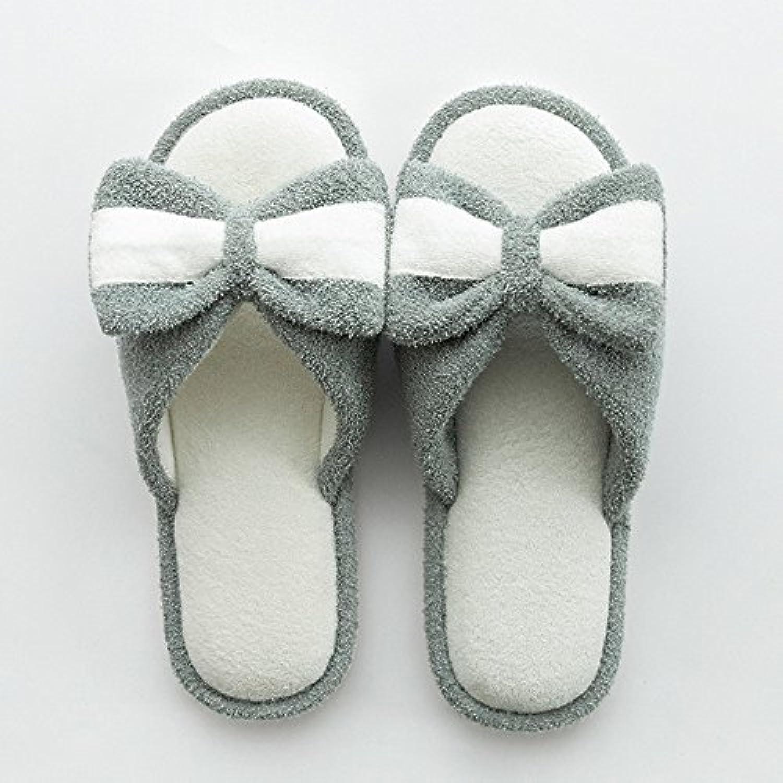 Cómodo Zapatillas caseras de los deslizadores Mujeres Zapatillas interiores de la boda de los pares del verano...