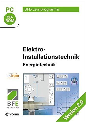 Elektro-Installationstechnik: Energietechnik Version 2.0 (Elektro-software)