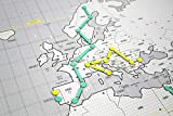 Mapnético Magnetic World Map. Tag...