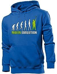 MALER EVOLUTION - Cooler Comedy Herren Kapuzenpullover S-XXL