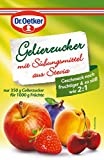 Dr.Oetker - Gelierzucker mit Süßungsmitteln aus Stevia - 350g