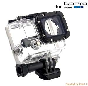 Boitier Etanche pour GoPro Hero 3 Waterproof Antichoc + Fixation Rapide OFFERTE -GP28- Commandé avant 15h, Expédié le jour même !