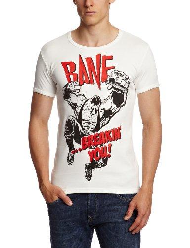 Logoshirt Camiseta Batman - Bane Blanco XXL