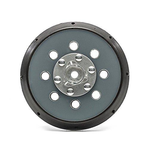 maxidetail BP1053Dual Action Da Schleifen Stützteller mit Haken und Klettverschluss/Gewinde Größe 5/40,6-61cm/Durchmesser 125mm/12,7cm (12 Sander Disc Pad)