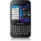 Blackberry Q5 -Smaphone, Orange libre, Teclado AZERTY, Color Negro