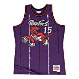 Vince Carter Toronto Raptors Mitchell & Ness NBA Throwback Jersey - Purple