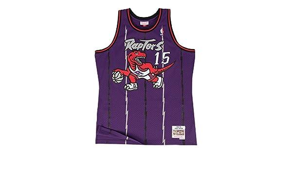 wholesale dealer 0121d 1659f Mitchell /& Ness Vince Carter Toronto Raptors Purple ...