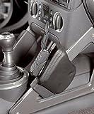 KUDA Telefonkonsole passend für: Audi TT/Cabrio ab 11/98-8/06 für Handy Echtleder <mokassinrot> (0316)
