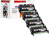 4 x JUMBO Toner kompatibel für DELL-3130 , DELL3130 , DELL-3130N , DELL3130n , DELL-3130cn , DELL3130 CN (9.000 Seiten je Farbe)