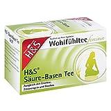 H&s Wohlfühltee feminin Säuren Basen Tee Filterb 20 stk