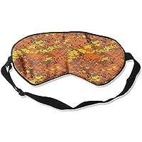 Orange Camo Artistic Illustration Sleep Eyes Masks - Comfortable Sleeping Mask Eye Cover For Travelling Night... preisvergleich bei billige-tabletten.eu