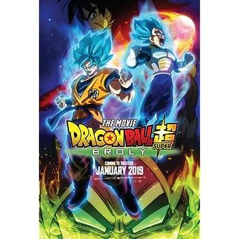 Poster Dragon Ball Z Broly The Legendary Super Saiyan US Movie Wall Print