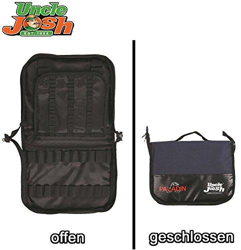 Uncle Josh Forellentasche Trout Fishing Bag, Angeltasche zum Forellenangeln, Tasche für Forellenposen & Forellenzubehör, 33x25x9cm