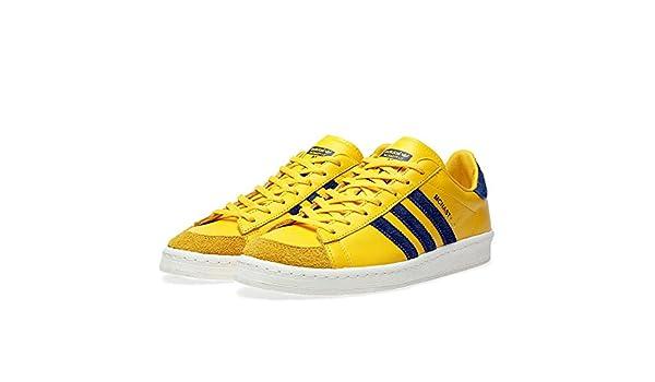 adidas Hook Shot 84 Lab Sneaker Schuhe Turnschuhe Leder Gelb
