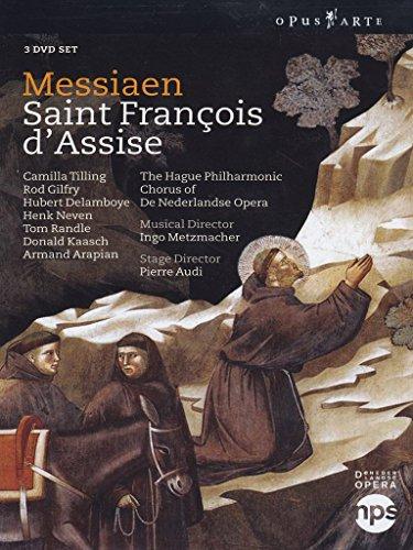 Olivier Messiaen - Saint Francois d'Asisse [3 DVDs]