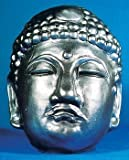 Big Buddha Daibutsu Silver Rubber Mask Cosplay [JAPAN] (japan import)