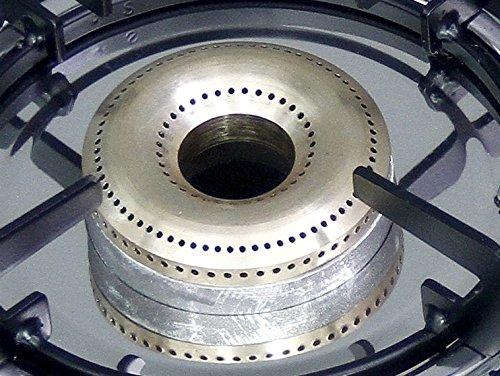 GRUN TULIP GTT03 3 Burner 8MM Toughened Glass Gas Stove