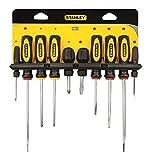 Stanley - Basic-Schraubendreher-Set (10) Verschiedene 0-60-100 - STA060100