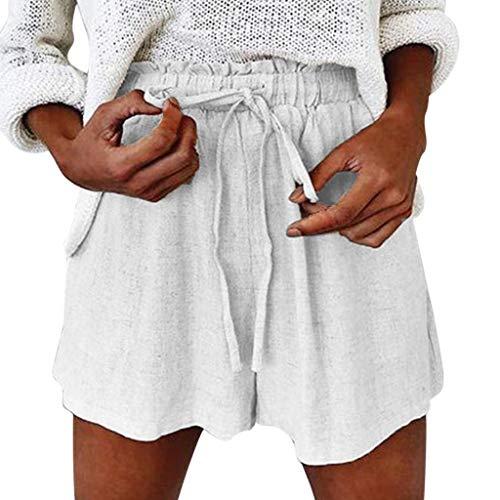 Art und Weisefrauen böhmische mittlere Taillen dünne passende beiläufige gedruckte Hosen Spitze Strand Kurzschlüsse -