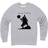 Official The Dark Tower Gunslinger Sudadera de cuello redondo, Para hombre