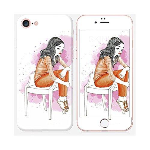 Sticker iPhone 5C de chez Skinkin - Design original : Wish and wear 30 par Manuela De Simone Skin iPhone 7
