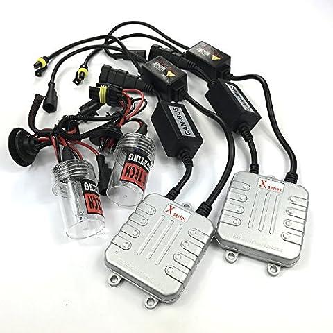 ProGear Tech 55W CANBUS HID Xenon kit de conversion H7sans ampoule Sortie d'erreur pour véhicules 12V