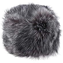 F Fityle Sombrero de Cossak Gorro de Esquí de Piel Sintética Estilo Ruso  Calentador de Oído 5a0eb3da7c8