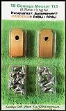 !Titan! Genisys® Messer (Ti3=0,75mm) und Schrauben für Husqvarna Automower®, Gardena® Mähroboter -