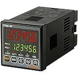 autonics ct6s-1p4Compteur et minuterie, 1/16DIN, 6LED, chiffres, 1Preset, Relais et sortie NPN, 100–240VAC