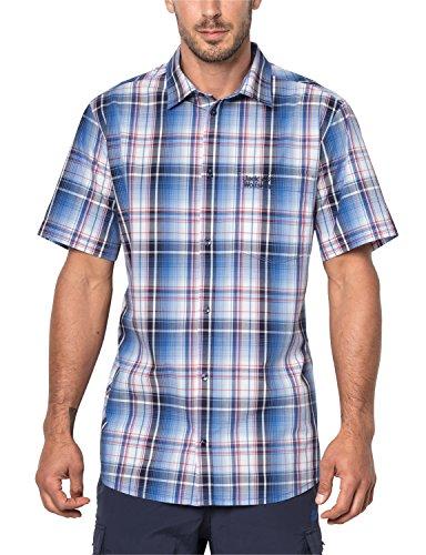 Jack Wolfskin Herren Hot Chili Hemd, Night Blue Checks, L Preisvergleich