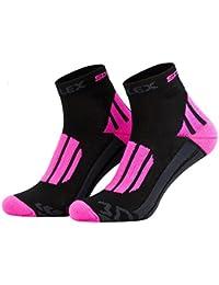 , Color:Pink-black;Size:UK 2-5 / EU 35-38