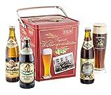 Kalea Weißbier Box, 8 ausgewählte Weißbiere und 1 Glas, verpackt in einer hochwertigen Metallbox, (8 x 0.5 l und 1 x Glas)