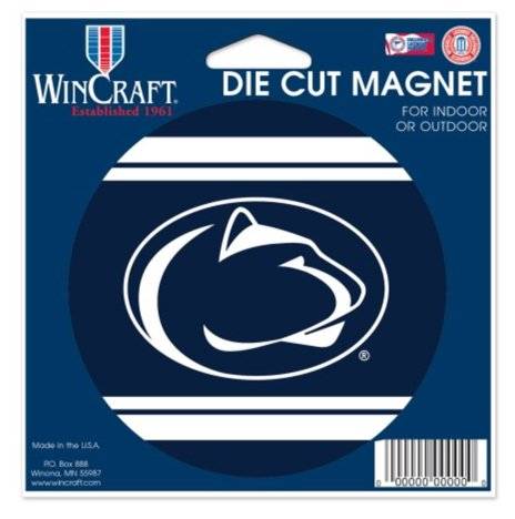 Wincraft Snack-Schale NCAA Penn State University Nittany Lions Farbe 4,5x 6Die Cut Magnet