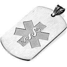 b7e39c98272b Flongo Placa Alerta Medica Cruz