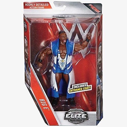 WWE Elite Series 44 Action Figure - Big e (The New Day Attire) (Wwe Figuren Big Pack)
