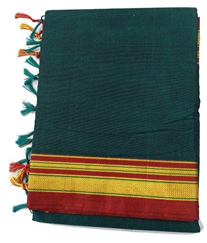 Nauvari Erkal Saree Also Known As ILKAL Saree (Nine Yards Silk Saree)...