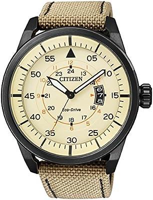 Citizen Eco-Drive Elegant AW1365-19P - Reloj solar de hombre de pulsera
