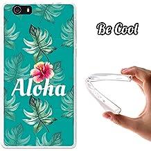 Becool® Fun - Funda Gel Flexible para Elephone M2, Carcasa TPU fabricada con la mejor Silicona, protege y se adapta a la perfección a tu Smartphone y con nuestro exclusivo diseño. Aloha