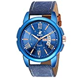 #3: Espoir Analog Blue Dial Men's Watch-LS3050-2