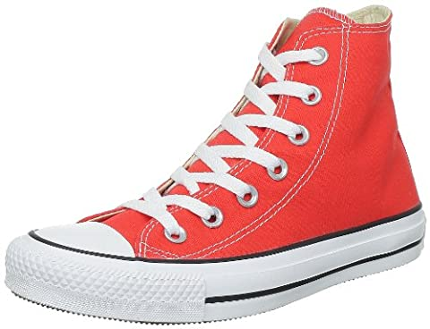 Converse Unisex-Adult Chuck Taylor All Star Hi-Top Trainers, Red- 6