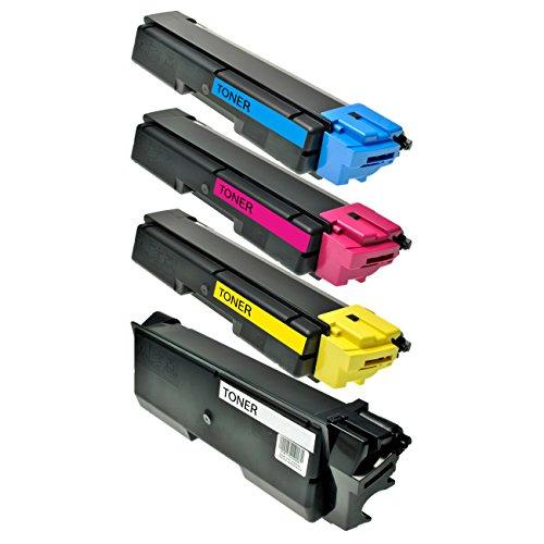 Preisvergleich Produktbild 4 Toner für Utax CLP 3726 CDC 1626 2726 5526 5626 5526 L P-C 2600 Series 2660 I DN MFP 2665 I MFP - 442610010-442610016 - Schwarz 7000 Seiten, Color je 5000 Seiten